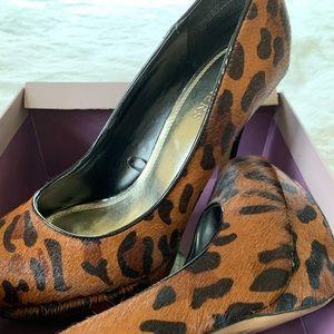 Bakers Leopard Print Heels